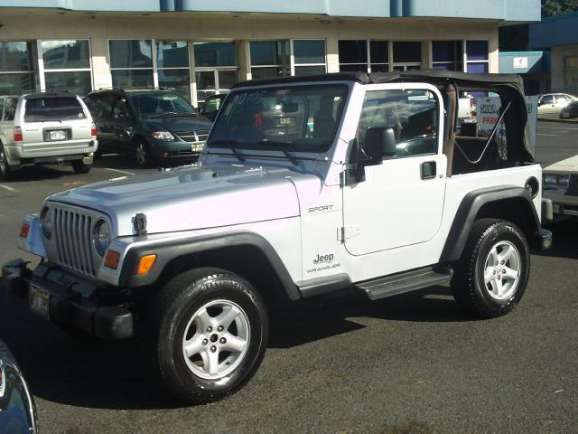 2004 jeep wrangler sport for sale in pearl city hawaii classified. Cars Review. Best American Auto & Cars Review