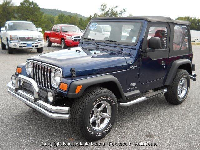 2004 jeep wrangler sport for sale in cumming georgia classified. Black Bedroom Furniture Sets. Home Design Ideas