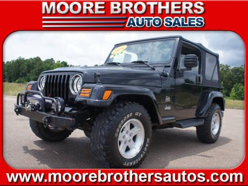 2004 jeep wrangler suv 4x4 sahara for sale in lafayette mississippi classified. Black Bedroom Furniture Sets. Home Design Ideas