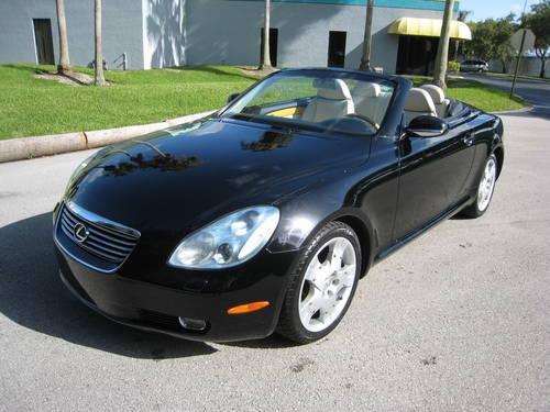 2004 lexus sc 430 convertible for sale in hollywood florida classified. Black Bedroom Furniture Sets. Home Design Ideas