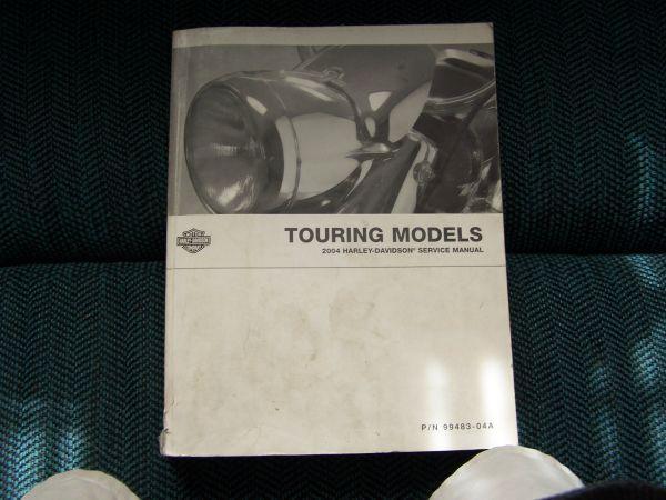2005 harley davidson road king owners manual