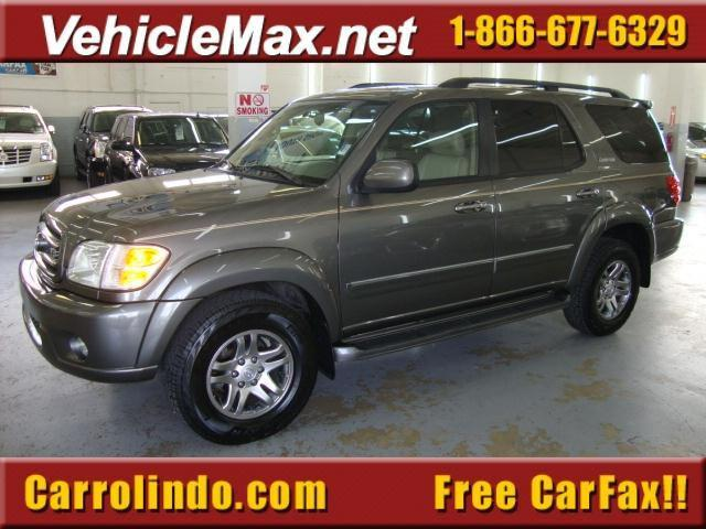 Toyota sequoia limited 4wd picture