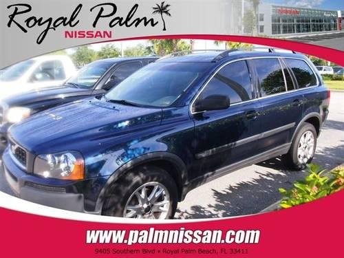 2004 volvo xc90 suv 4dr 2 9l twin turbo awd w 3rd row suv for sale in west palm beach florida. Black Bedroom Furniture Sets. Home Design Ideas