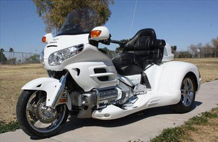 Mercedes Coconut Creek >> 2005 30th Anniversary Honda GL1800 Gold Wing Trike for ...