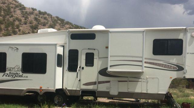 2005 36ft Prowler Regal Fleetwood 5th Wheel Travel