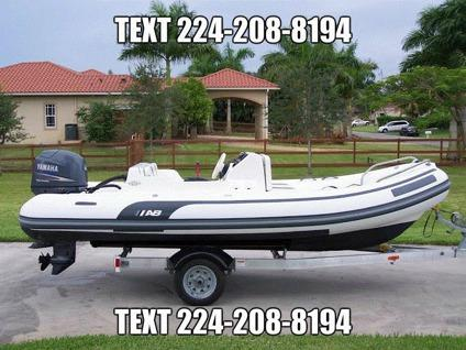 2005 Ab Inflatable Boat 15 Feet Yamaha 60hp 4 Stroke For