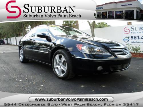 2005 acura rl gray for sale in hollywood florida. Black Bedroom Furniture Sets. Home Design Ideas