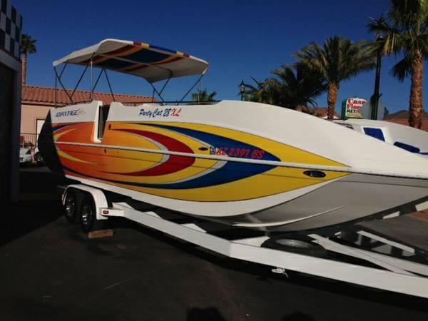 2005 Advantage 28 Party Cat Deck Boat - $52000