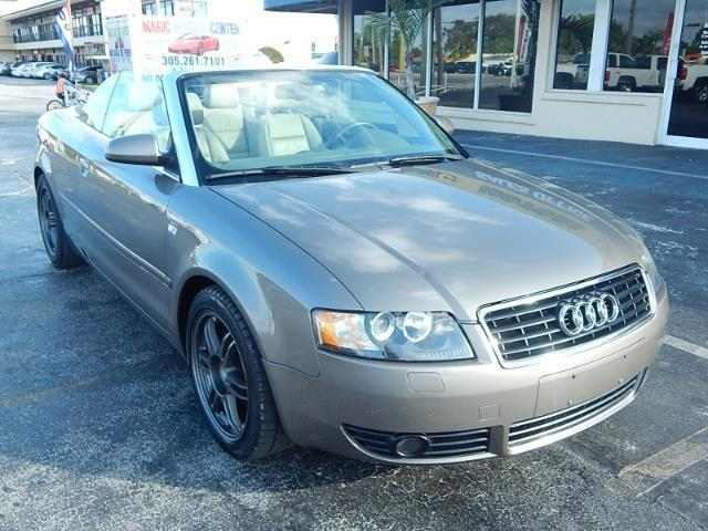 2005 audi a4 1 8t 2dr 1 8t turbo cabriolet for sale in miami florida classified. Black Bedroom Furniture Sets. Home Design Ideas
