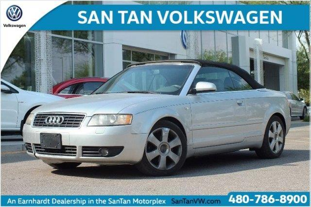 2005 Audi A4 1.8T 2dr 1.8T Turbo Cabriolet