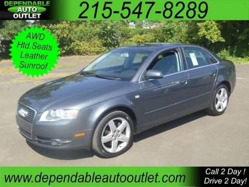 2005 audi a4 2 0t quattro with tiptronic for sale in fairless hills pennsylvania classified. Black Bedroom Furniture Sets. Home Design Ideas