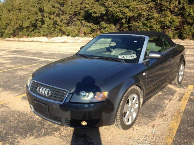 2005 audi a4 2005 2dr cabriolet 1 8t cvt automatic on gray dolphin for sale in waterbury. Black Bedroom Furniture Sets. Home Design Ideas