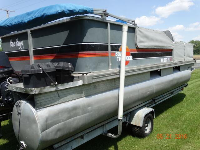 2005 Bass Buggy Suntracker 21ft For Sale In Wauseon Ohio