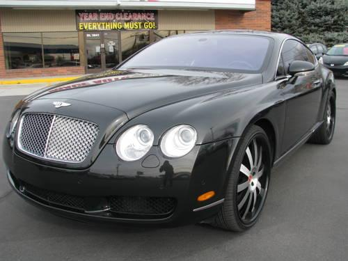 2005 bentley continental gt 6 0 twin turbo coupe for sale. Black Bedroom Furniture Sets. Home Design Ideas