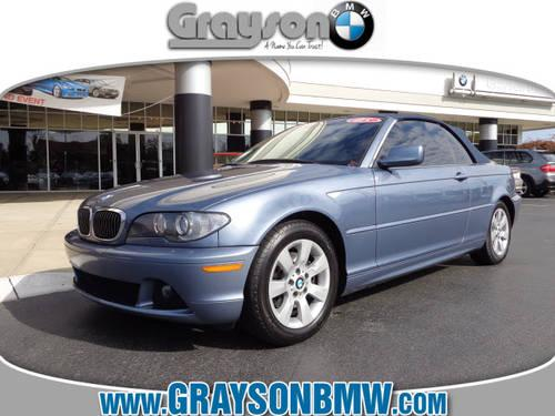 2005 Bmw 325ci Convertible: 2005 BMW 325Ci Convertible 325Cic For Sale In Knoxville