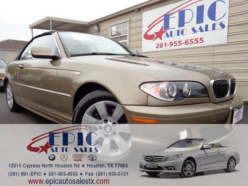American Auto Sales Houston Tx: 2005 BMW 325Ci Convertible