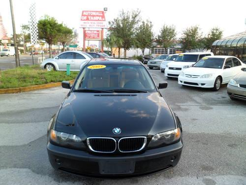 2005 bmw 325i sport package clean car fax for sale in tampa florida classified. Black Bedroom Furniture Sets. Home Design Ideas