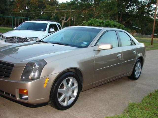 2005 cadillac cts 3 6l v6 tan auto 59872mi for sale in crecy texas classified. Black Bedroom Furniture Sets. Home Design Ideas