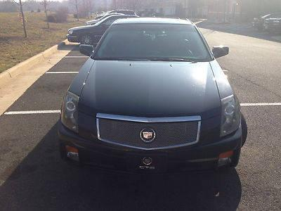 2005 cadillac cts luxury sedan 4 door 3 6l black one owner. Black Bedroom Furniture Sets. Home Design Ideas