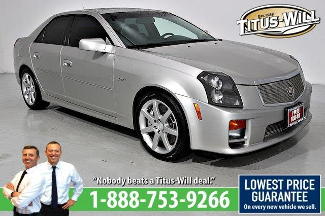 2005 Cadillac CTS-V Base 4dr Sedan