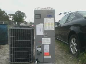 2005 Carrier 2 5 Ton Heat Pump Set Heat Pinellas For