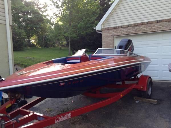 2005 checkmate 16 ft boat motor trailer fast ski for 16 ft fishing boat