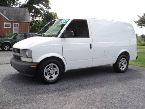 2005 chevrolet astro cargo van full size cargo van for sale in bermudian pennsylvania. Black Bedroom Furniture Sets. Home Design Ideas