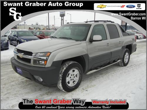 2005 chevrolet avalanche truck 4 dr 1500 z71 4wd crew cab for Swant graber motors barron wi