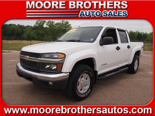 2005 chevrolet colorado crew cab 4x4 z71 ls for sale in lafayette mississippi classified. Black Bedroom Furniture Sets. Home Design Ideas