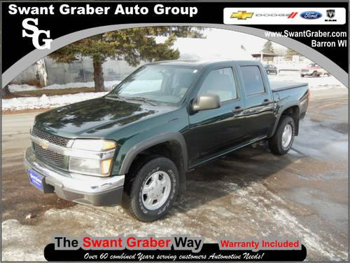 2005 chevrolet colorado truck 4 dr z85 ls 4wd crew cab sb for Swant graber motors barron wi