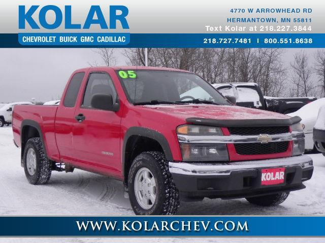 2005 chevrolet colorado z71 4dr extended cab z71 4wd sb for sale in duluth minnesota classified. Black Bedroom Furniture Sets. Home Design Ideas