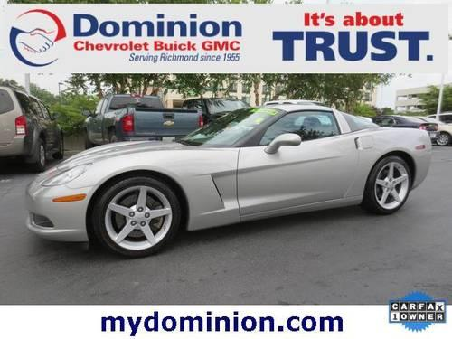 2005 chevrolet corvette coupe silver 16k miles for. Black Bedroom Furniture Sets. Home Design Ideas