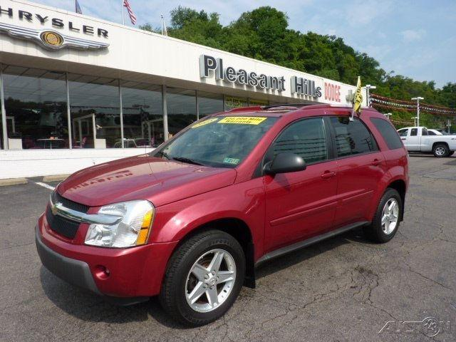 2005 chevrolet equinox lt for sale in pittsburgh pennsylvania classified. Black Bedroom Furniture Sets. Home Design Ideas