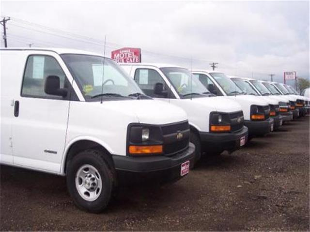 2005 Chevrolet Express Cargo 3 Dr G3500 Cargo Van For Sale