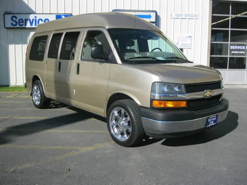 2005 Chevrolet Express Van Passenger For Sale In Spokane