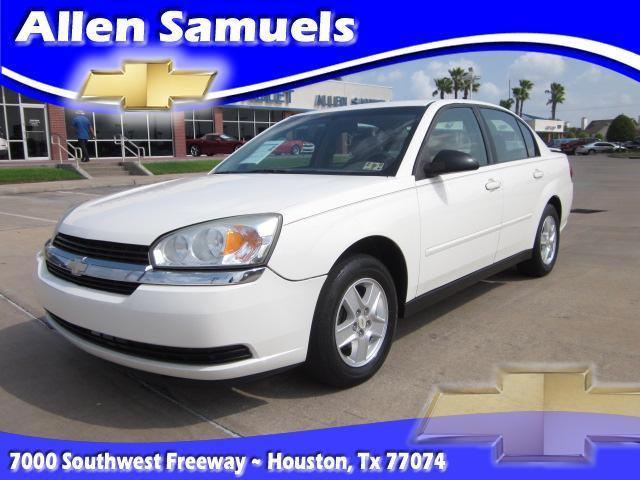 2005 chevrolet malibu ls for sale in houston texas classified. Black Bedroom Furniture Sets. Home Design Ideas