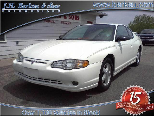 2005 chevrolet monte carlo lt for sale in cedarville. Black Bedroom Furniture Sets. Home Design Ideas