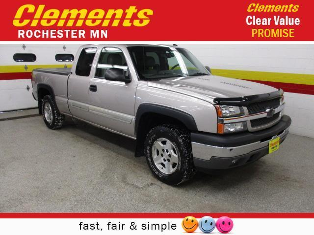 2005 chevrolet silverado 1500 lt 4dr extended cab lt 4wd sb for sale in rochester minnesota. Black Bedroom Furniture Sets. Home Design Ideas