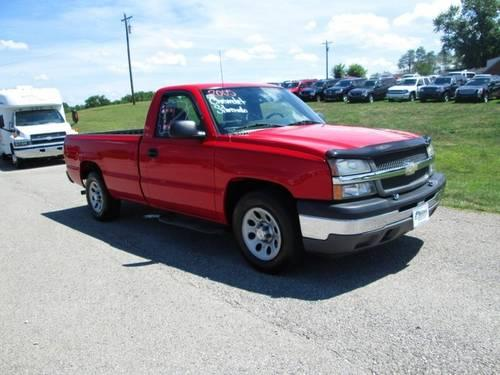 2005 chevrolet silverado 1500 pickup truck work truck for sale in williamstown kentucky. Black Bedroom Furniture Sets. Home Design Ideas