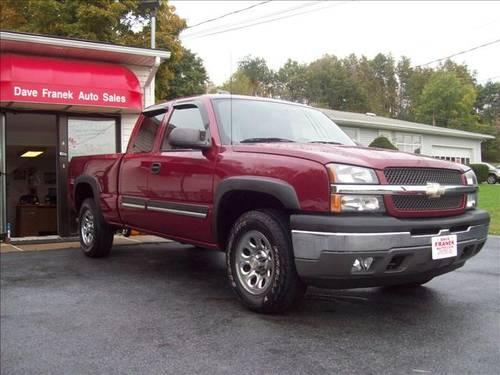 2005 chevrolet silverado 1500 pickup truck z71 ext cab 4x4 tow for sale in beemerville. Black Bedroom Furniture Sets. Home Design Ideas