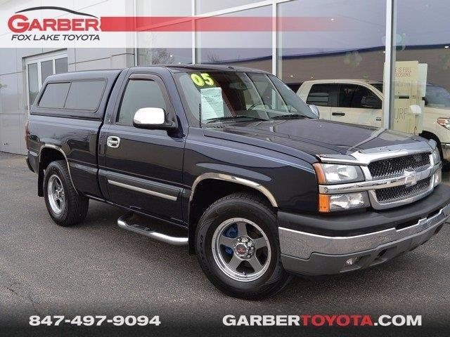 2005 chevrolet silverado 1500 work truck 2dr standard cab work truck rwd sb for sale in fox lake. Black Bedroom Furniture Sets. Home Design Ideas