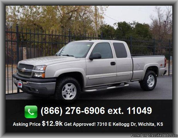 2005 chevrolet silverado 1500 work truck pickup for sale in wichita kansas classified. Black Bedroom Furniture Sets. Home Design Ideas