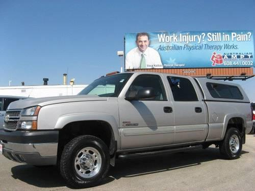 2005 chevrolet silverado 2500hd crew cab lt diesel for for Schoepp motors middleton wi
