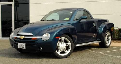 2005 chevrolet ssr truck reg cab 116 0 wb ls truck for sale in chestnut new jersey classified. Black Bedroom Furniture Sets. Home Design Ideas