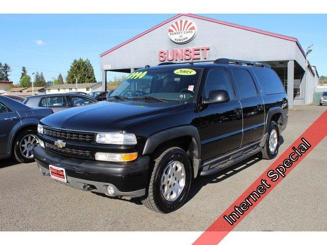 2005 chevrolet suburban 1500 z71 1500 z71 4wd 4dr suv for sale in auburn washington classified. Black Bedroom Furniture Sets. Home Design Ideas