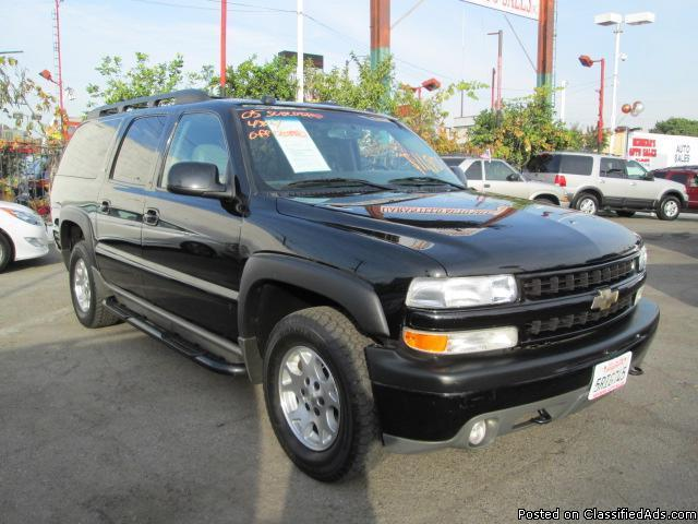 2005 chevrolet suburban z71 for sale in los angeles california classified. Black Bedroom Furniture Sets. Home Design Ideas