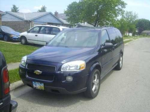 2005 chevrolet uplander minivan in mt orab oh for sale in bardwell ohio classified. Black Bedroom Furniture Sets. Home Design Ideas