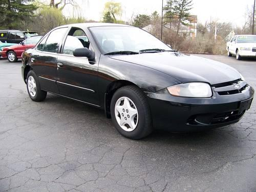 2005 chevy cavalier chevrolet 4 door black 111k miles for sale in richmond illinois. Black Bedroom Furniture Sets. Home Design Ideas
