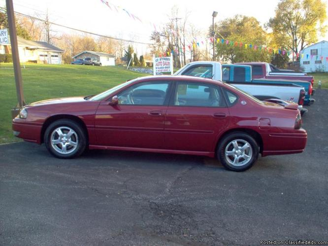 2005 chevy impala ls for sale in duncansville pennsylvania classified. Black Bedroom Furniture Sets. Home Design Ideas