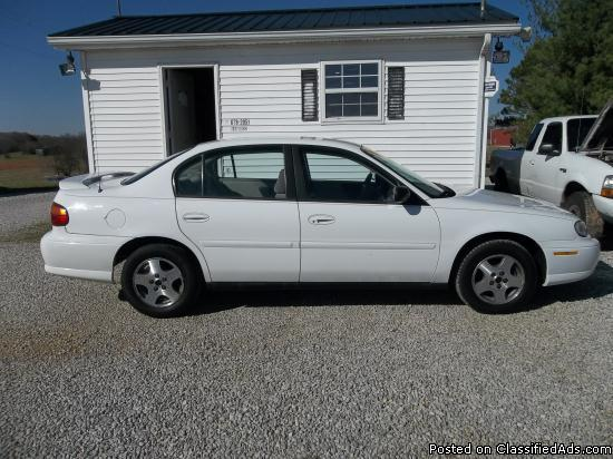 2005 Chevy Malibu Classic For Sale In Dry Fork Kentucky